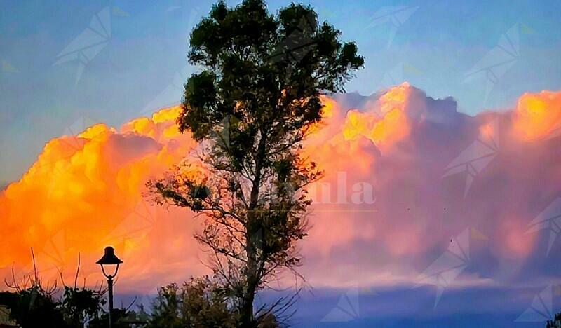 Caulonia Marina: foto al tramonto
