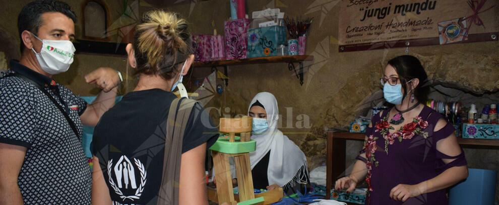 UNHCR e Intersos a Camini per la Giornata mondiale del rifugiato
