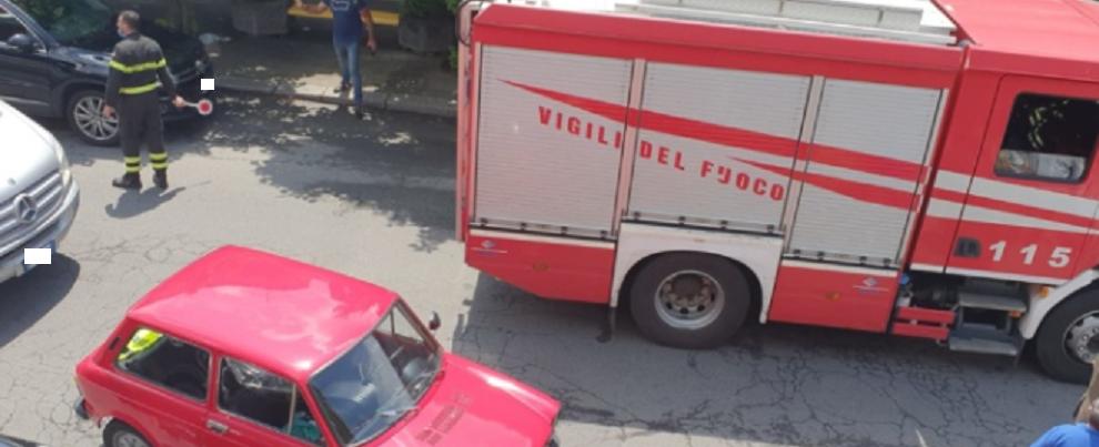Incidente stradale a Siderno: tre veicoli coinvolti