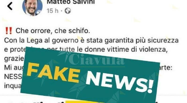 Italiano malato di mente corre per strada nudo. Salvini lo trasforma in pakistano e racconta palle ai suoi elettori