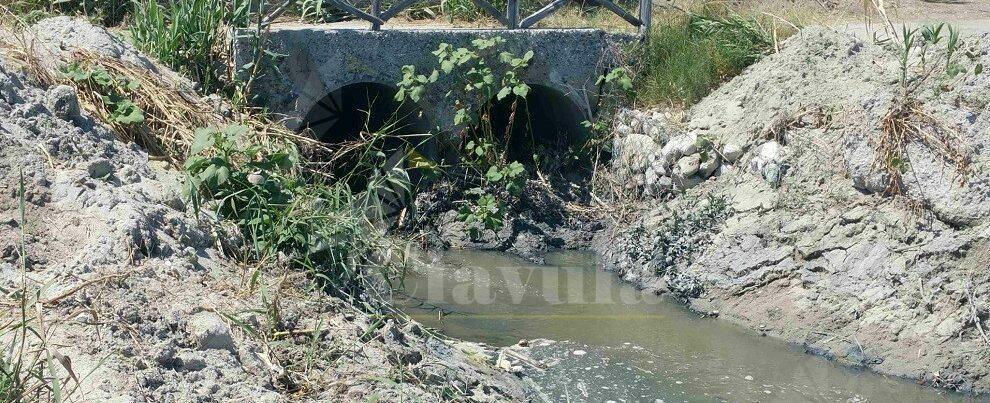 A Vasì di Caulonia individuato scarico illecito di acque reflue urbane