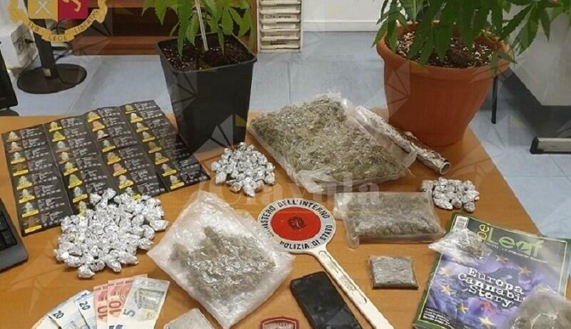 Trovato in possesso di oltre 500 grammi di marijuana. Arrestato 22enne