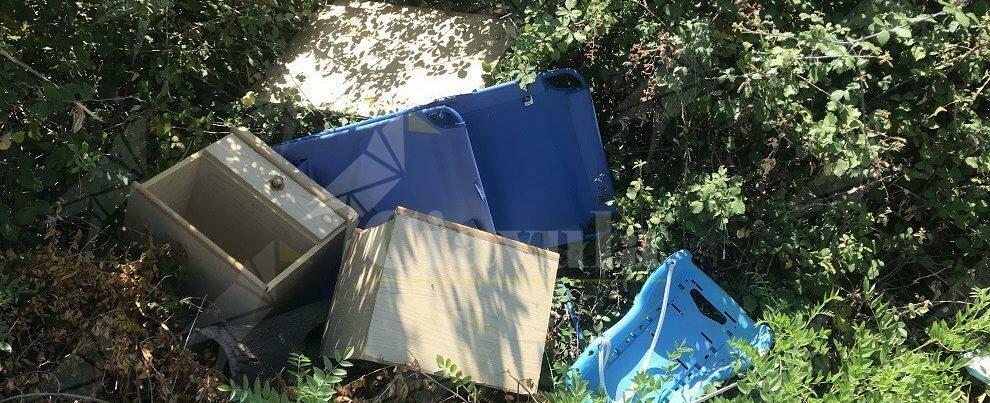 Caulonia: Rifiuti abbandonati ad Amusa