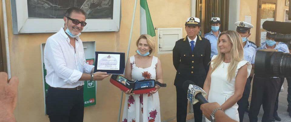 A Caulonia un nuovo defibrillatore donato dal 30° Corso Allievi Sottufficiali dell'Arma dei Carabinieri