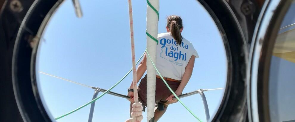 La 15esima edizione della Goletta dei Laghi fa tappa in Calabria