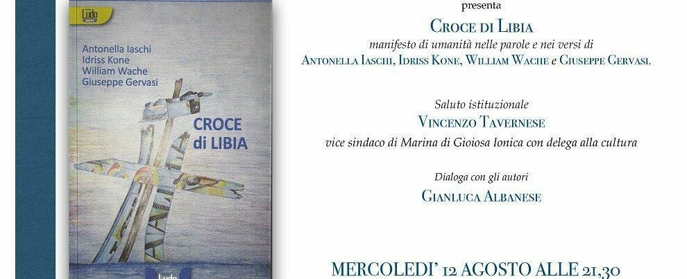 """Domani a Marina di Gioiosa la presentazione della raccolta poetica """"Croce di Libia"""""""