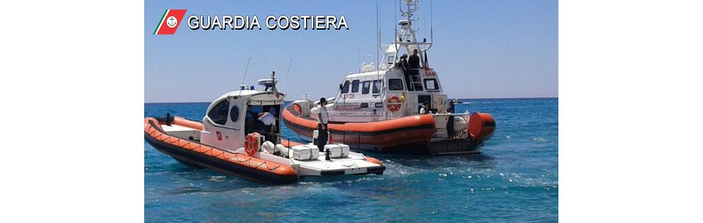 Monasterace, salvato dalla guardia costiera un bagnante con kite-surf in difficoltà