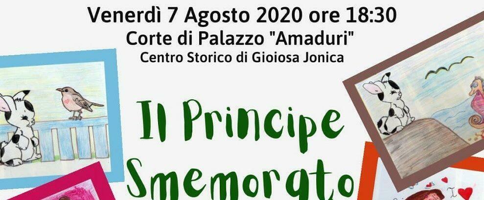 """Venerdì al Palazzo Amaduri di Gioiosa la presentazione del libro """"Il Principe Smemorato"""""""