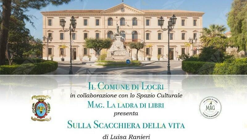 """Locri: sabato la presentazione del libro """"Sulla scacchiera della vita"""" di Luisa Ranieri"""