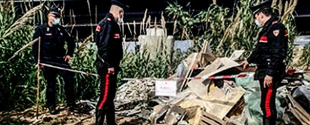 Scoperta una discarica abusiva a Villa San Giovanni, quattro persone denunciate