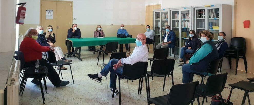 A Caulonia incontro tra i sindaci e il direttore del Distretto Jonico per ottimizzare il lavoro delle Saub