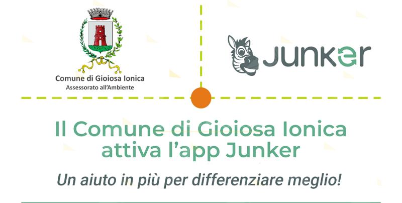Attiva anche a Gioiosa Ionica l'app Junker per aiutare i cittadini nella raccolta differenziata