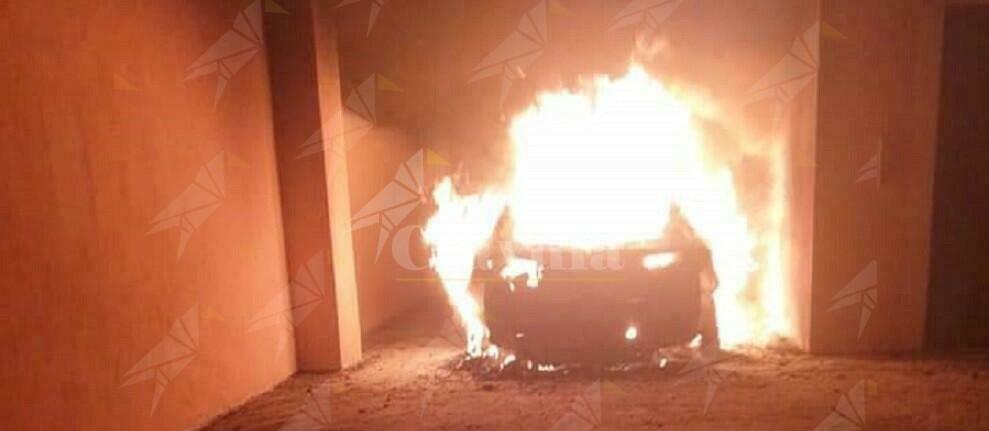 Bruciata l'auto dell'attivista Recosol di Palmi Enzo Infantino
