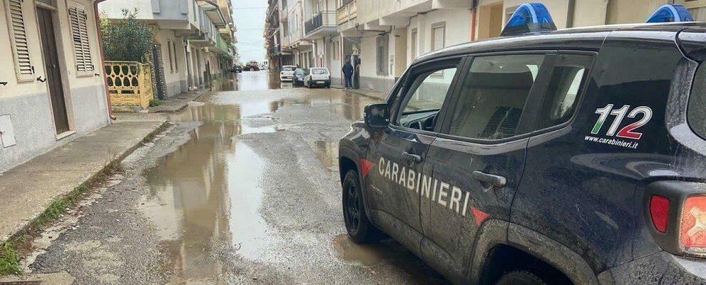 Alluvione Crotone, prosegue il lavoro dei carabinieri