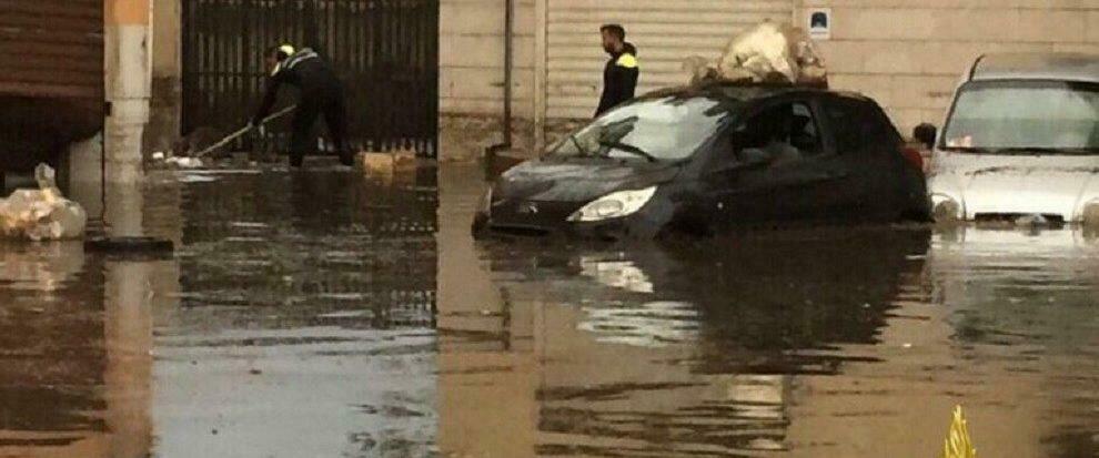 Silenzio dei media sull'alluvione in corso in Calabria
