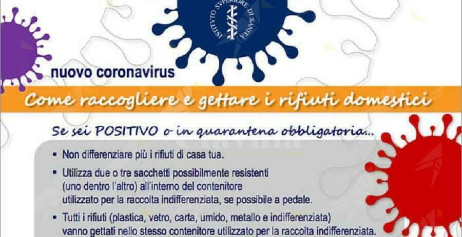 Caulonia: Le regole da seguire per la raccolta differenziata se si è positivi al covid