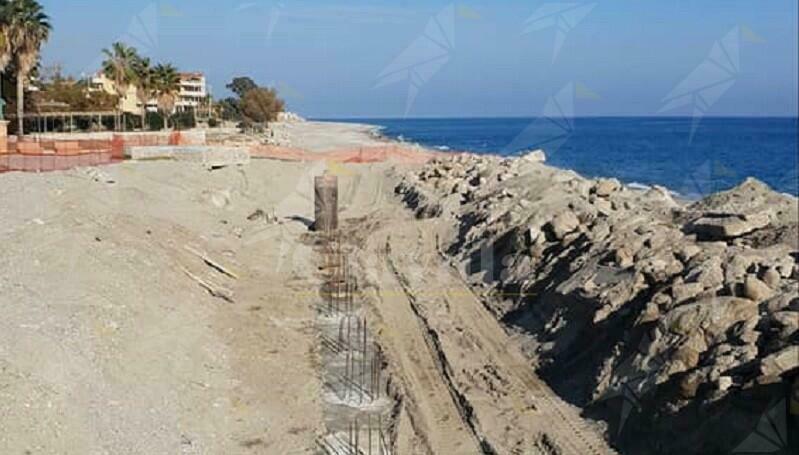 Caulonia, al via i lavori di difesa costiera