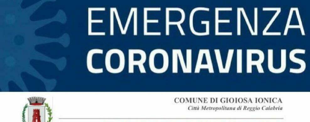Gioiosa Ionica registra quattro nuovi casi positivi al coronavirus