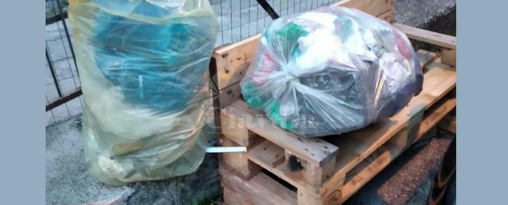 Abbandono di rifiuti a Focà di Caulonia, la segnalazione della lettrice