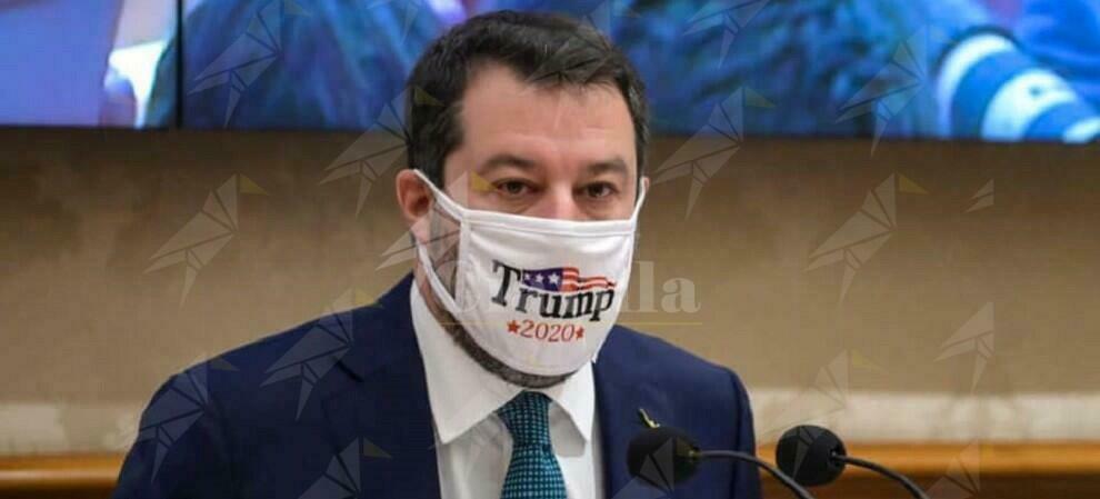 Salvini diffonde come al solito, fake news sul voto americano e sull'Italia