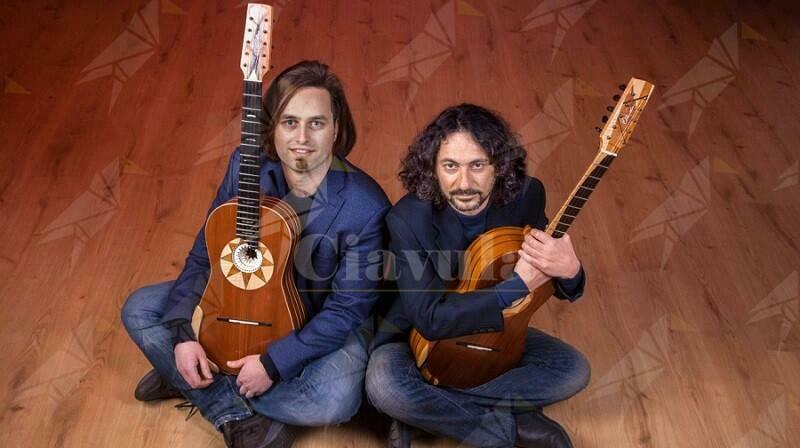 """Uscito """"Venti"""" il nuovo disco del calabrese Francesco Loccisano, in duo di chitarra battente con Marcello De Carolis"""
