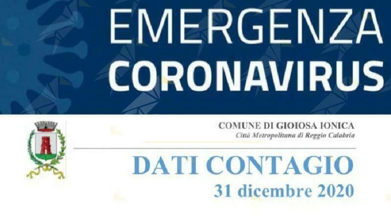 Gioiosa Ionica, sono 33 le persone attualmente positive al coronavirus