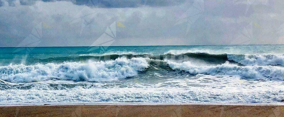 Foto del mare da Caulonia