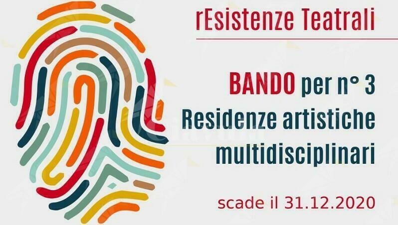 Pubblicato il bando per Residenze Artistiche Multidisciplinari