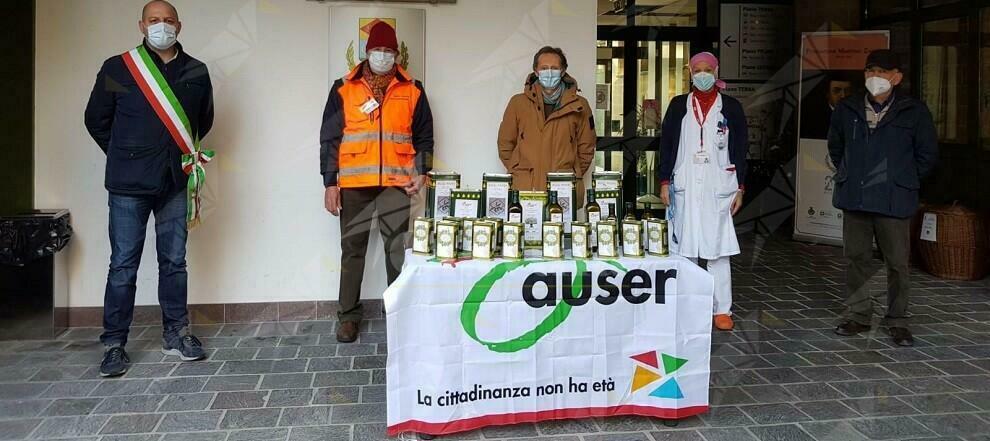 La solidarietà dell'associazione Auser di Focà di Caulonia