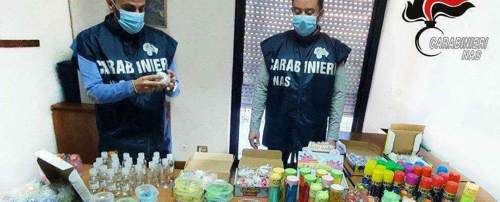 Vendevano gel igienizzante che non igienizza. Sequestri e denunce in Calabria