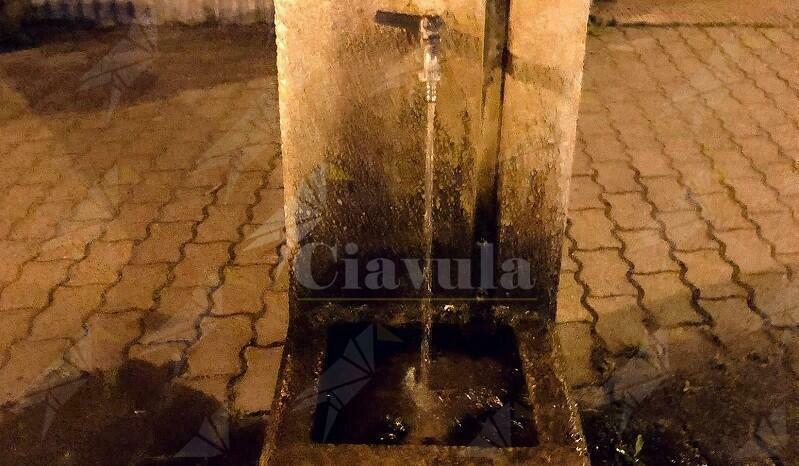 """Caulonia, Cristiano Fantò: """"Invito a chiudere la fontana nei pressi del lungomare dopo l'utilizzo"""""""
