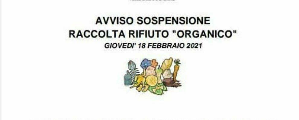 Anche a Gioiosa domani non verranno raccolti i rifiuti organici
