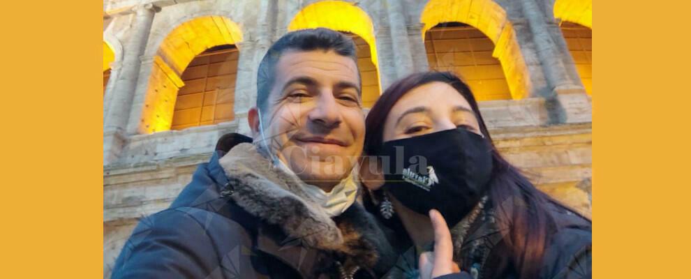 foto del giorno: Ciavula ti protegge… anche a Roma!