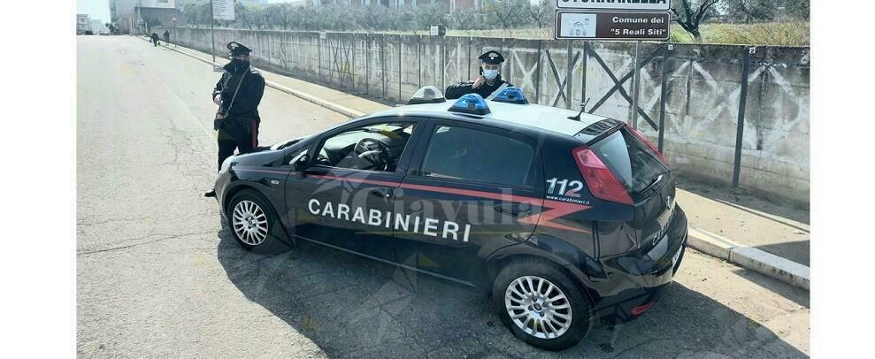 Non si ferma all'Alt dei carabinieri, arrestato dopo un pericoloso inseguimento