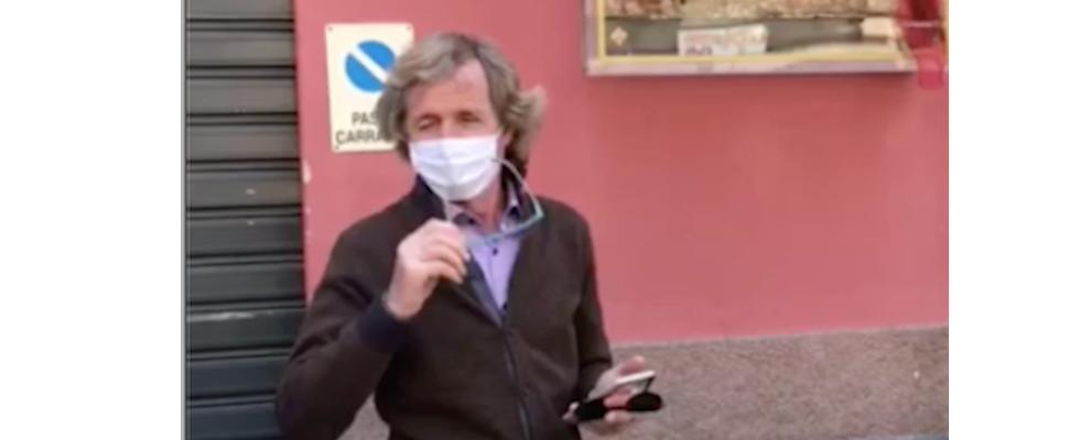 Caulonia, Franco Cagliuso festeggia il 25 aprile – video
