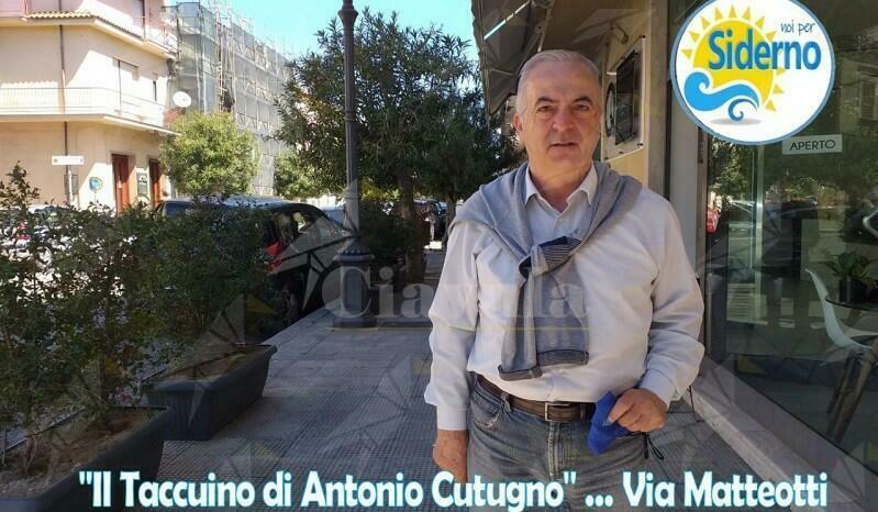 """Siderno: Nasce il """"Taccuino di Antonio Cutugno"""""""