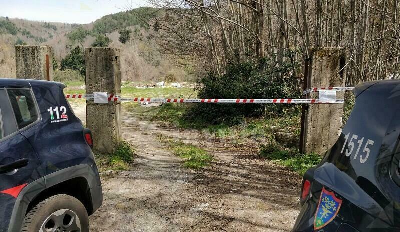 Sequestrata discarica abusiva al confine del Parco Nazionale Aspromonte