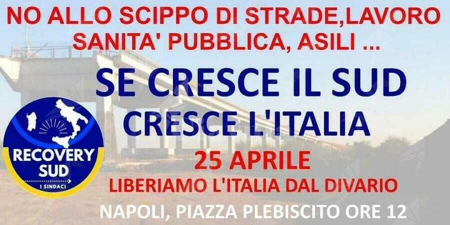 Festa della liberazione: I sindaci del Sud onoreranno il 25 aprile a Napoli. Cinquefrondi sara' presente