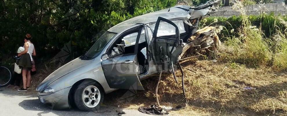 Incidente stradale a Caulonia, interviene l'elisoccorso