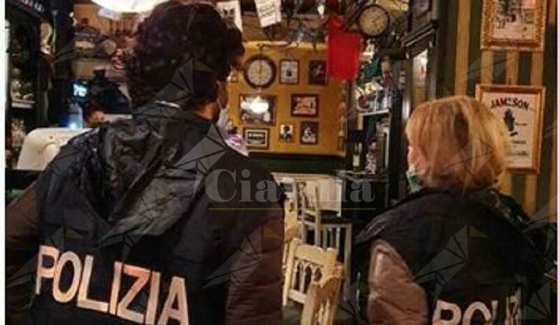Controlli anti-covid in Calabria: Sanzionati i titolari di 2 bar