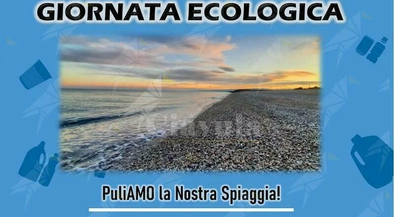 """Caulonia: Domenica 23 maggio si svolgerà la giornata ecologica """"PuliAMO la nostra spiaggia"""""""