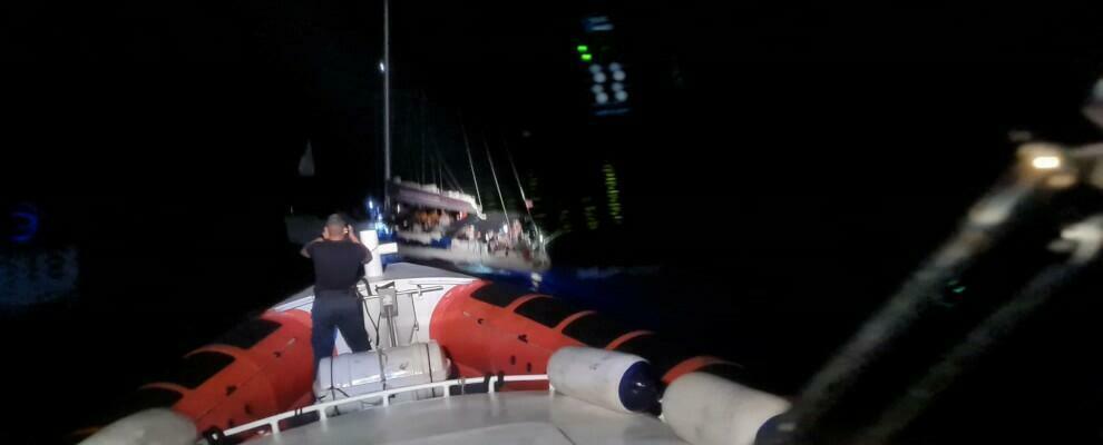 Nuovo sbarco nella notte a Roccella, giunti in 114