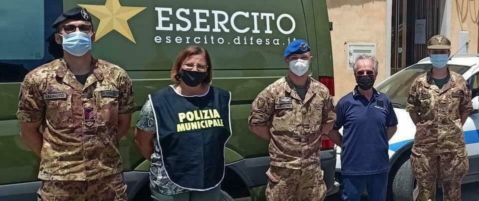 Caulonia, vaccinazioni a domicilio per i soggetti fragili grazie ai militari dell'esercito