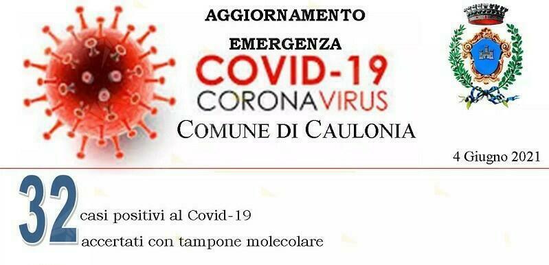 Covid 19: Aumentano i contagi a Caulonia