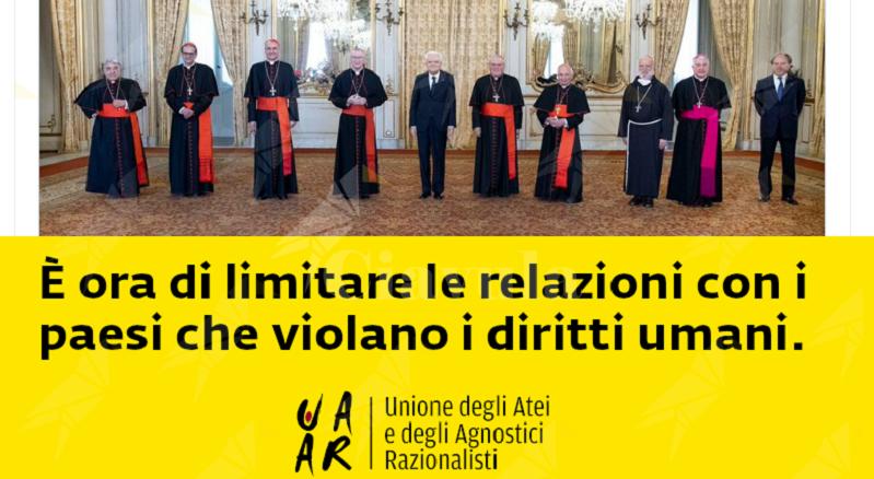 Italia colonia del Vaticano