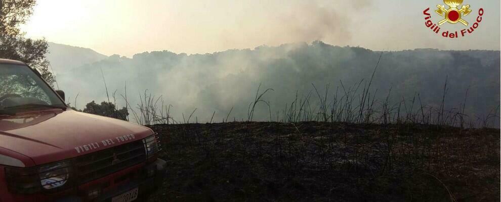 Incendi in Calabria, ieri bruciati oltre 160 mila metri quadrati di macchia mediterranea e bosco