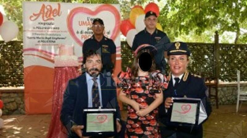 Bambina morsa da vipera a Polistena ringrazia i poliziotti che l'hanno salvata