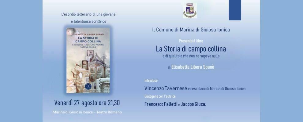 Venerdì a Marina di Gioiosa la presentazione del romanzo d'esordio della scrittrice riacese Elisabetta Spanò