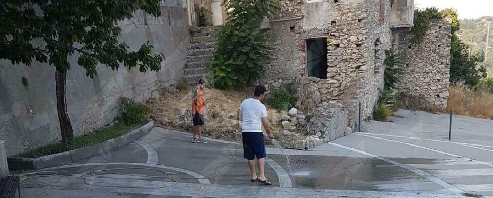 Ursini di Caulonia, i cittadini hanno pulito il paese