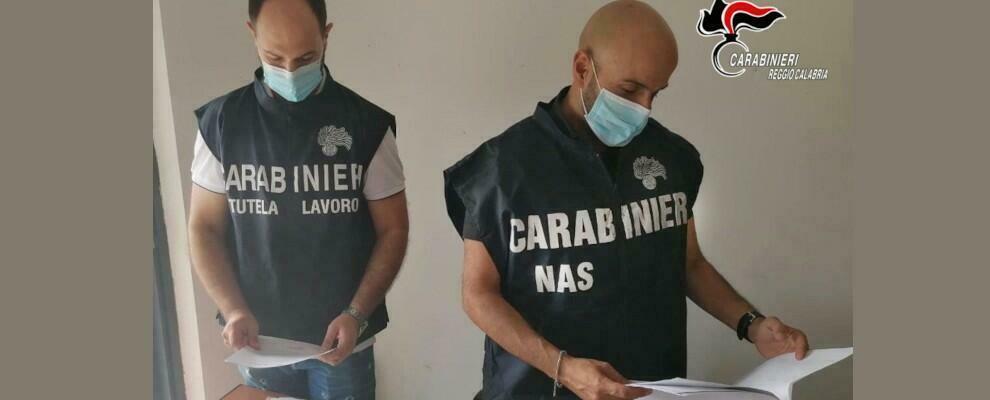 Reggio Calabria, lavoravano in nero e percepivano il reddito di cittadinanza: sanzioni per un'azienda